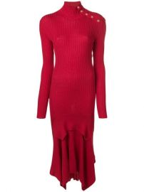 Stella McCartney Asymmetric Knit Dress - Farfetch at Farfetch