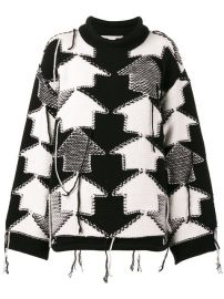 Stella McCartney Check Volume Jumper  1 095 - Shop AW17 Online - Fast Delivery  Price at Farfetch