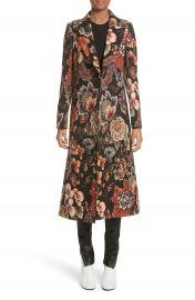Stella McCartney Floral Tapestry Long Coat at Nordstrom