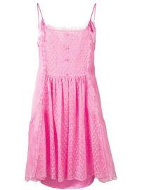 Stella McCartney Lace Panel Slip Dress - Farfetch at Farfetch