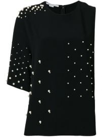 Stella McCartney Pearl-embellished Top  1 160 - Buy SS18 Online - Fast Global Delivery  Price at Farfetch