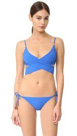 Stella McCartney Timeless Basics Wrap Bikini Top at Shopbop