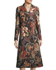 Stella McCartney Vivienne Floral Brocade Dress Coat at Neiman Marcus