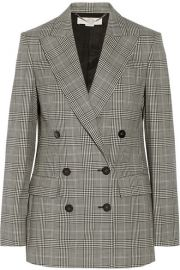 Stella McCartneyandnbspandnbspPrince of Wales check stretch-wool double-breasted blazer at Net A Porter