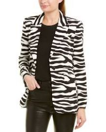 Stephani Zebra Printed Blazer by Rachel Zoe at Gilt