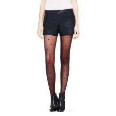 Stephanie Faux Leather Shorts at Club Monaco