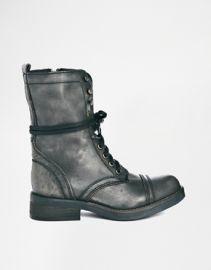 Steve Madden Monch Boots at Asos