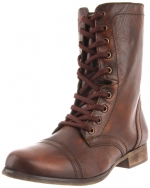 Steve Madden Troopa boots on Vampire Diaries at Amazon