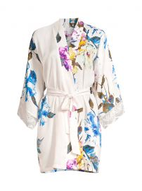 Still In Love Floral Satin Robe at Saks Fifth Avenue