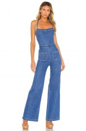 Stoned Immaculate Jean Genie Jumpsuit in Filmore from Revolve com at Revolve