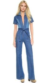 Stoned Immaculate Blue Jean Baby Jumpsuit at Shopbop