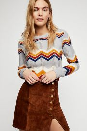 Stoned Immaculate Ziggy Pullover at Free People
