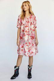 Stranger In Paradise Jacquard Dress at Free People