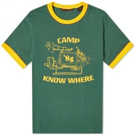 Stranger Things Camp Know Where Ringer Tee by Levis at End