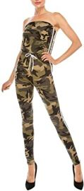 Strapless Camo Fitted Athletic Jumpsuit at Amazon