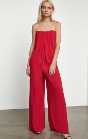 Strapless Jumpsuit at BCBGMAXAZRIA