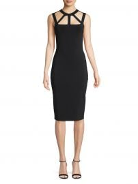 Strappy Cutout Bodycon Dress at Lord & Taylor