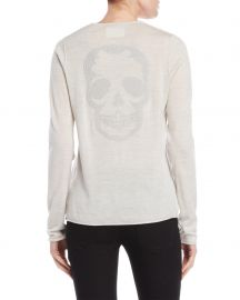 Strass Skull Sweater at Zadig & Voltaire