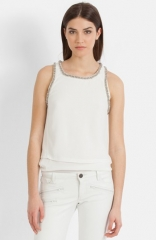 Strass Tank by Maje at Nordstrom
