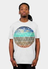 Strata Geodesic Tshirt at Design by Humans
