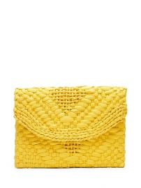 Straw Clutch at Banana Republic