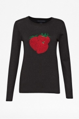 Strawberry Sequin Sweater at French Connection