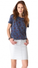 Strawberry print freshman tee by Current Elliot at Shopbop