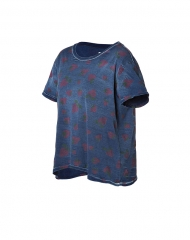 Strawberry print freshman tee by Current Elliot at Stylebop