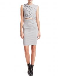 Stretch Crepe Cutout Sheath Dress at Saks Fifth Avenue