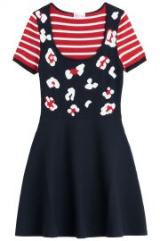 Stretch Knit Dress by RED Valentino at Stylebop