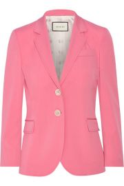 Stretch Wool and Silk-Blend Blazer by Gucci at Net A Porter