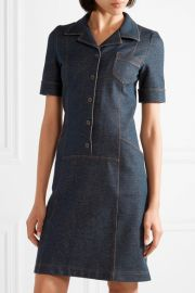 Stretch-cotton shirt dress by Tomas Maier at Net A Porter