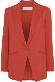 Stretch-crepe blazer at The Outnet