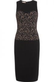 Stretch-crepe dress at The Outnet