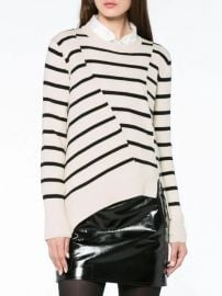 Stripe Asymmetric Jumper by Proenza Schouler at Farfetch