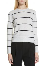 Stripe Cashmere Sweater at Nordstrom