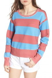 Stripe Crewneck Sweatshirt by Frank  Eileen Tee Lab at Nordstrom Rack