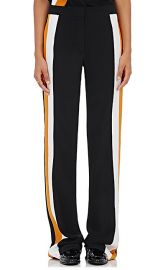 Stripe Inset Silk Pants by Stella McCartney at Barneys