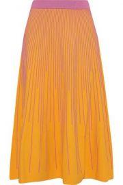 Stripe Knit Midi Skirt by Derek Lam 10 Crosby at Nordstrom Rack
