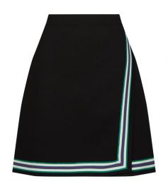 Stripe Knitted Mini Skirt at Harrods