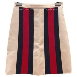 Stripe Mini Skirt by Gucci at Gucci
