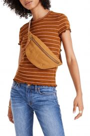 Stripe Print Cropped Baby T-Shirt by Madewell at Nordstrom Rack