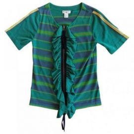 Stripe Ruffle Cardigan by Marni  at H&M
