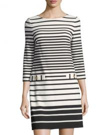 Stripe Shift Dress by Eliza J at Last Call