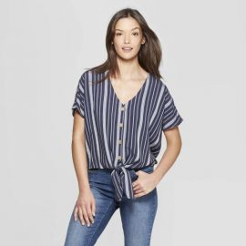 Stripe Short Sleeve Top by Universal Thread at Target at Target