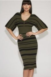 Stripe Sweater Sheath Dress - Gabrielle Union Collection at NY&C