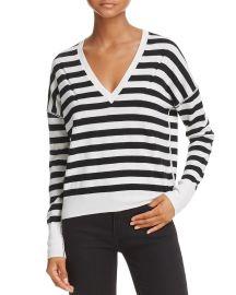 Stripe V-Neck Sweater by Rag & Bone at Bloomingdales