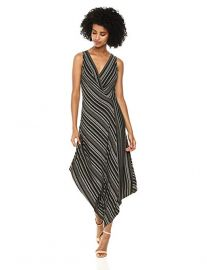 Stripe asymmetric dress at Amazon