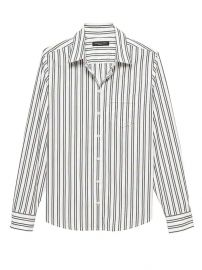 Stripe shirt at Banana Republic