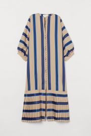 Striped Button-front Kaftan at H&M